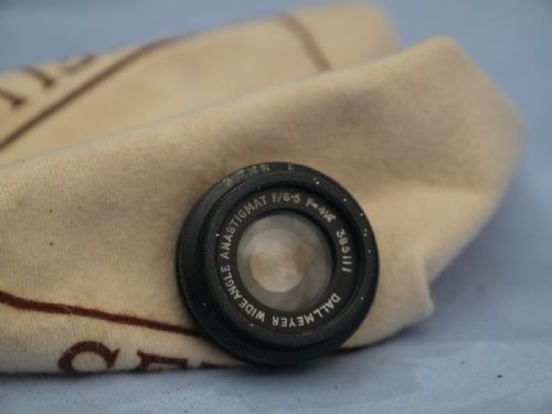 "'   4 1/4"" 6.5 Dallmeyer Wide Angle ' -RARE- Dallmeyer  4 1/4"" 6.5 Wide Angle Anastigmat Lens -LARGE FORMAT LENS- £149.99"